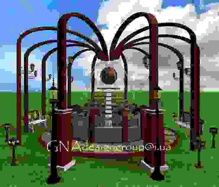 Фонтан от GNAdesigngroup