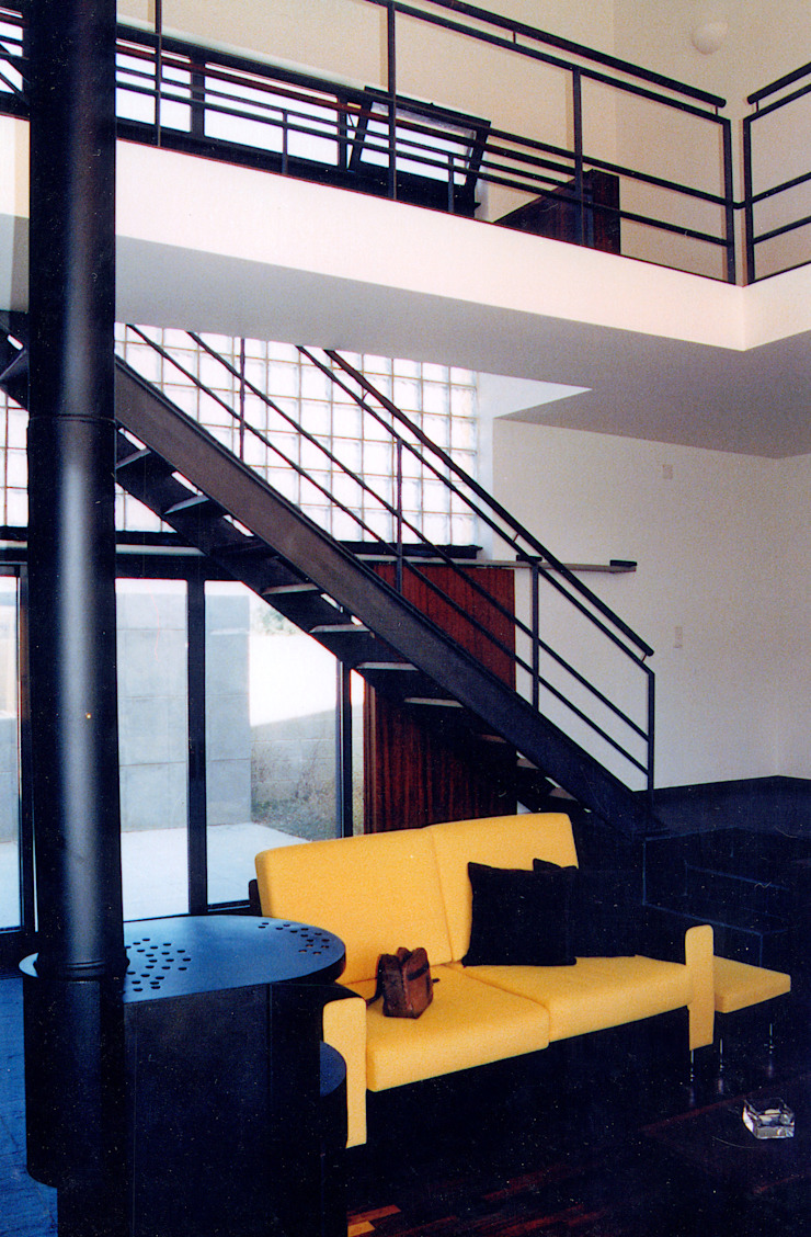 Casa   Póvoa da Galega   Mafra Salas de estar modernas por ATELIER DA CIDADE Moderno