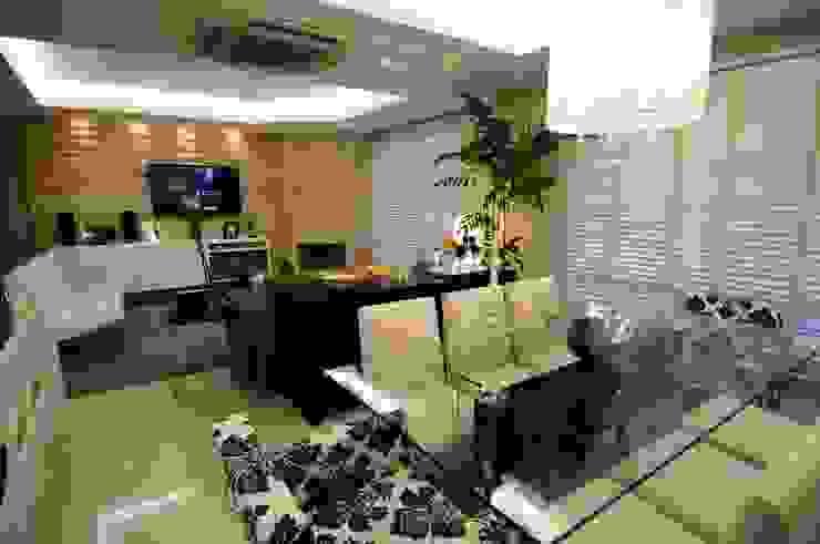 Comedores de estilo moderno de Angela Ognibeni Arquitetura e Interiores Moderno