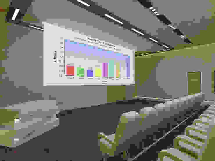 Medicine Hospital konsept tasarımı ve uygulama danışmanlığı Minimalist Hastaneler ARCHES DESIGN Minimalist