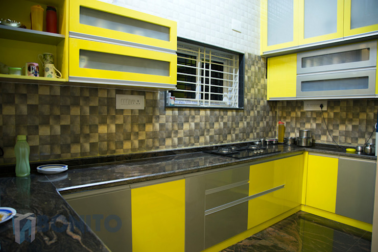 Modular kitchen design by homify Asian