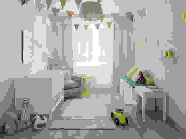 Детская для малыша Детская комнатa в скандинавском стиле от Olesya Parkhomenko Скандинавский