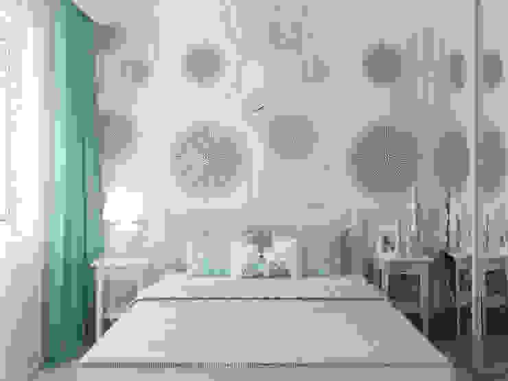 Спальня Спальня в скандинавском стиле от Olesya Parkhomenko Скандинавский