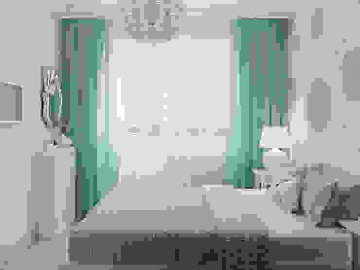 스칸디나비아 침실 by Olesya Parkhomenko 북유럽