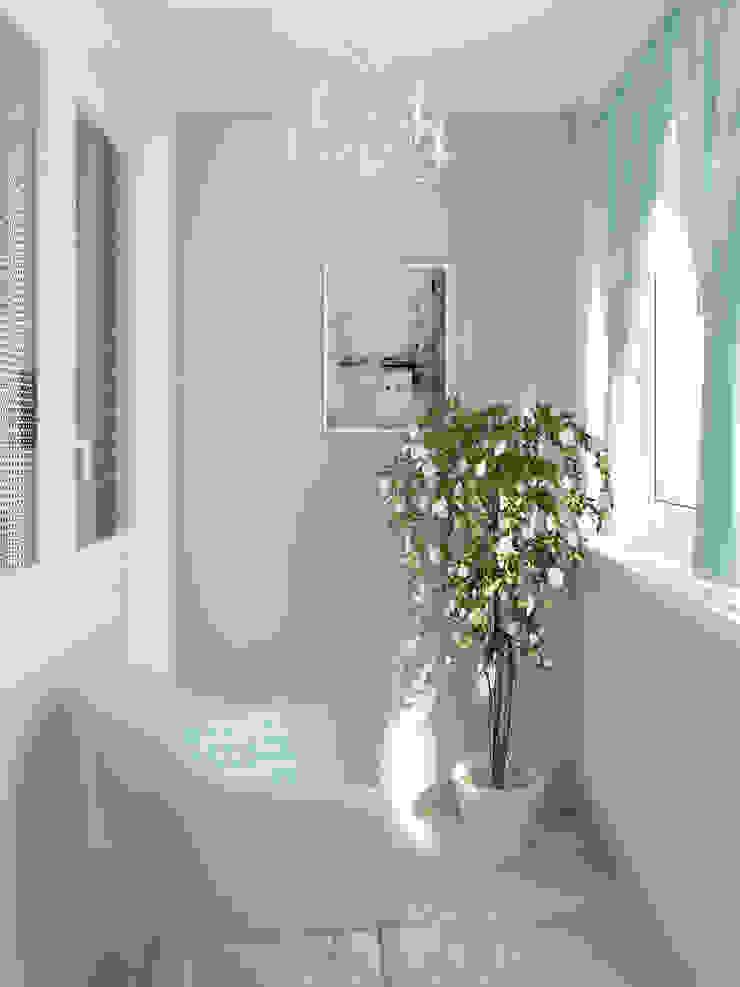 Яркая квартира Балкон в скандинавском стиле от Olesya Parkhomenko Скандинавский
