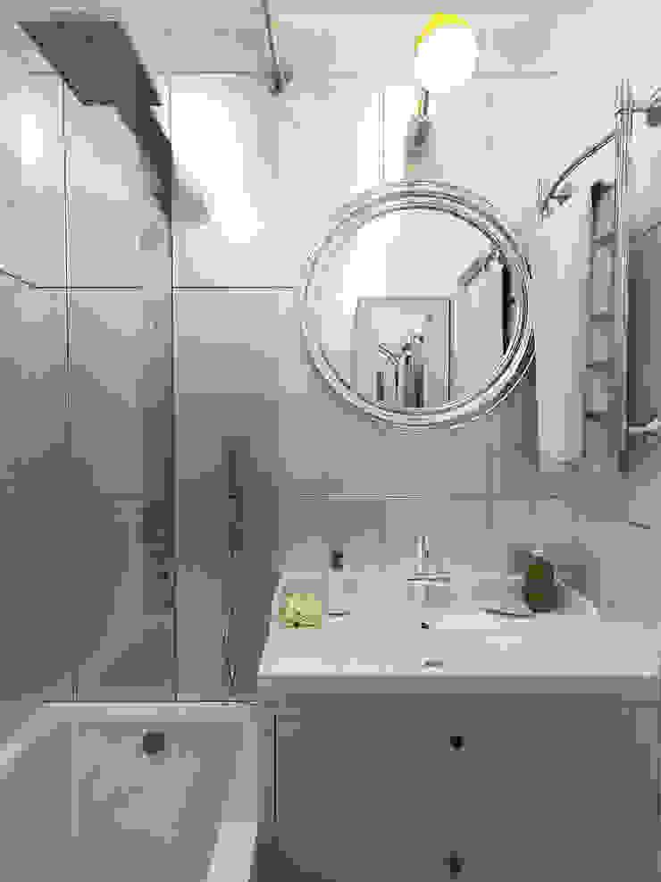 Ванная Ванная комната в стиле модерн от Olesya Parkhomenko Модерн