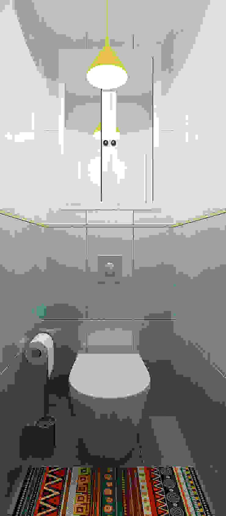 Санузел Ванная комната в стиле модерн от Olesya Parkhomenko Модерн