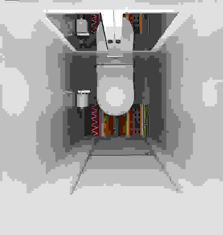 Яркая квартира Ванная комната в стиле модерн от Olesya Parkhomenko Модерн