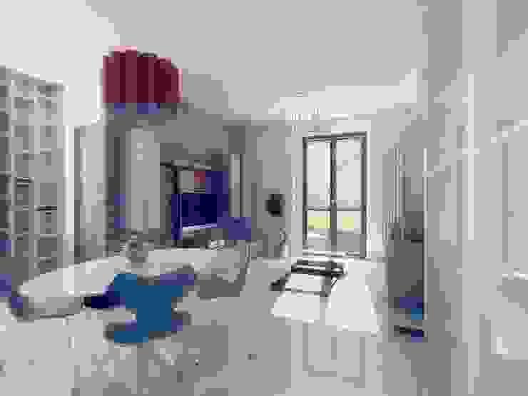 Гостиная в стиле модерн от Ivan Rivoltella Модерн