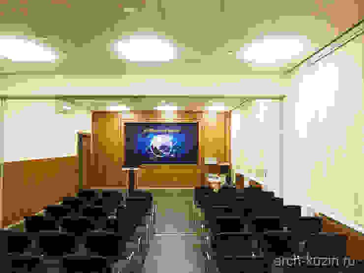 ОФИС компании «КАСцентр» — дистрибьютор CAS Сorparation (Южная Корея) Медиа комната в стиле минимализм от Архитектор Михаил Кузин Минимализм