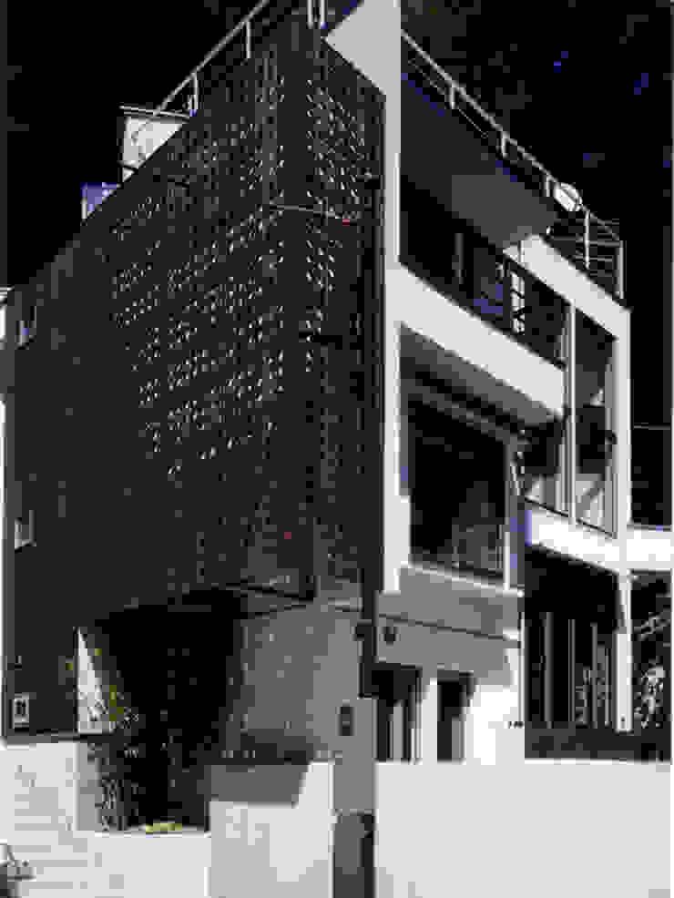 外観 オリジナルな 家 の 豊田空間デザイン室 一級建築士事務所 オリジナル 木 木目調