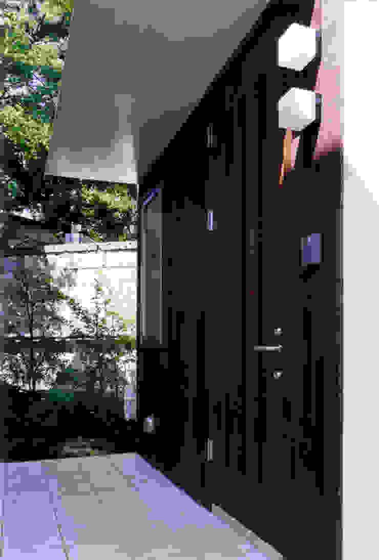 玄関 オリジナルな 家 の 豊田空間デザイン室 一級建築士事務所 オリジナル