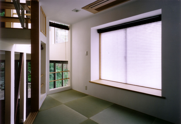 和室 オリジナルデザインの 多目的室 の 豊田空間デザイン室 一級建築士事務所 オリジナル