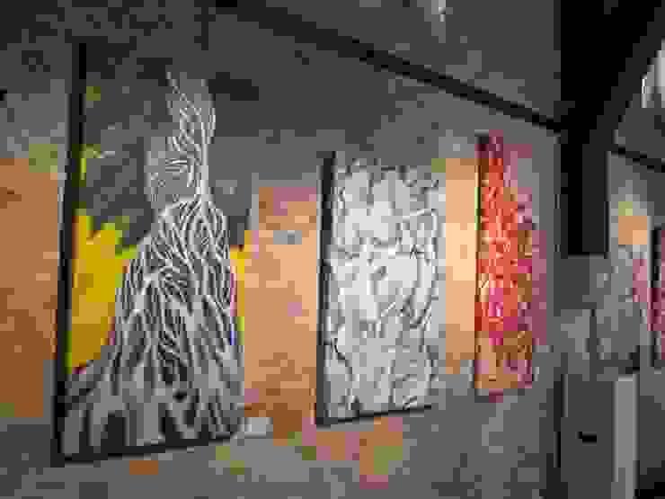 """Exposición """"GLOBAL ART"""" en Nieuwpoort, Bélgica. de Filiberto Montesinos Moderno"""