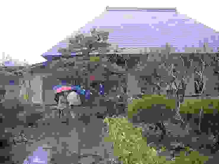 a renovation of traditional house3 日本家屋・アジアの家 の 伊藤邦明都市建築研究所 和風 木 木目調