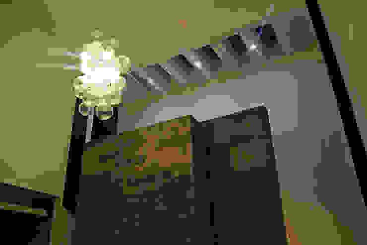 Narda Davila arquitectura Modern living room Marble Grey