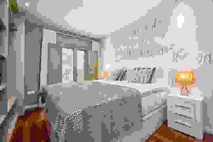 Dormitorio Dormitorios de estilo moderno de Espacios y Luz Fotografía Moderno