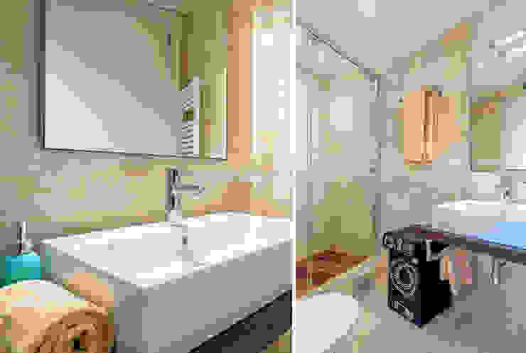 detalle baño Baños de estilo moderno de Espacios y Luz Fotografía Moderno