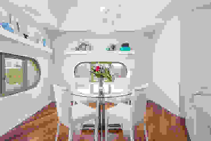 Comedor Salones de estilo moderno de Espacios y Luz Fotografía Moderno