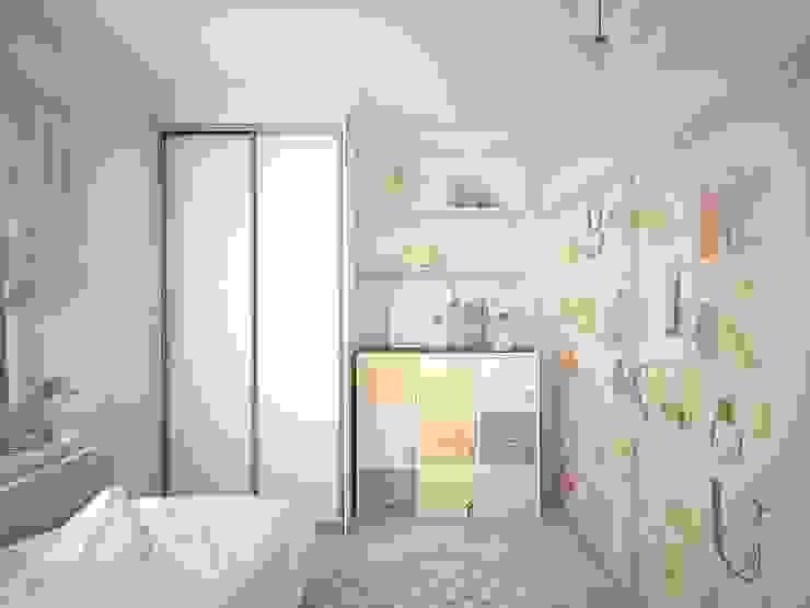 квартира в ЖК Garden Park Эдальго Детская комнатa в стиле минимализм от AG design Минимализм