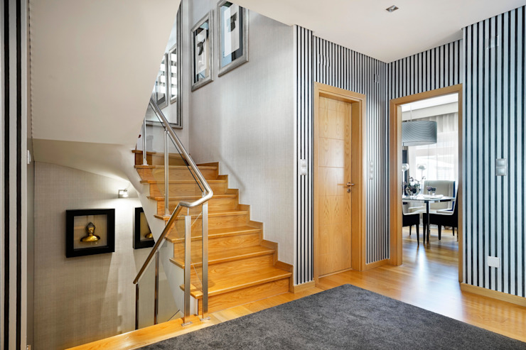 الممر الحديث، المدخل و الدرج من 3L, Arquitectura e Remodelação de Interiores, Lda حداثي