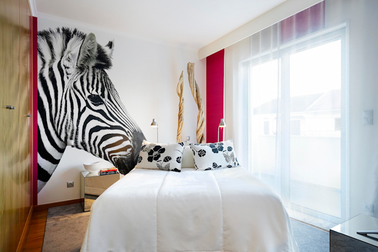 quarto rapariga/young girl bedroom Quartos modernos por 3L, Arquitectura e Remodelação de Interiores, Lda Moderno