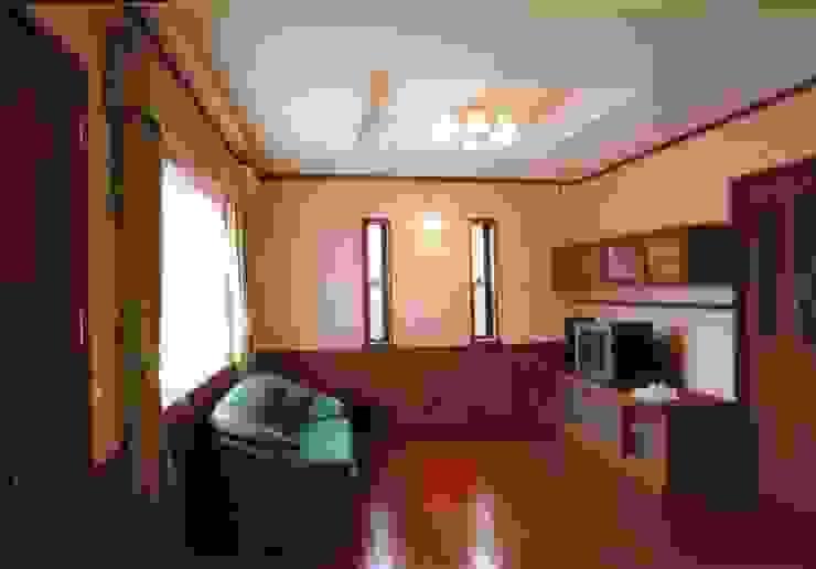 夙川の家 モダンデザインの リビング の 株式会社 atelier waon モダン