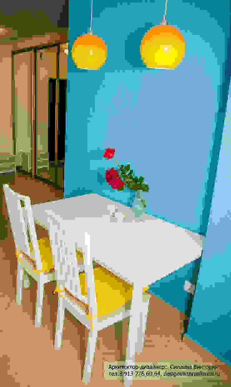 Реализация. Квартира 45 кв.м. на Романова Кухня в скандинавском стиле от Студия дизайна Виктории Силаевой Скандинавский