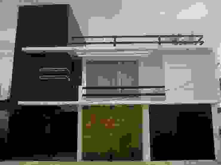 Fachadas Casas minimalistas de La Casa del DiseÑo Minimalista