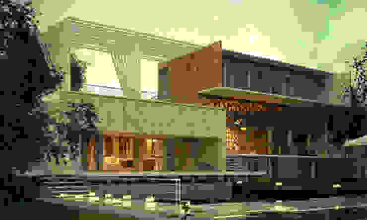 Fachadas Casas modernas de La Casa del DiseÑo Moderno
