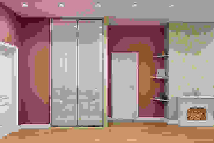 Квартира 55 кв.м. на Дзержинского Коридор, прихожая и лестница в классическом стиле от Студия дизайна Виктории Силаевой Классический