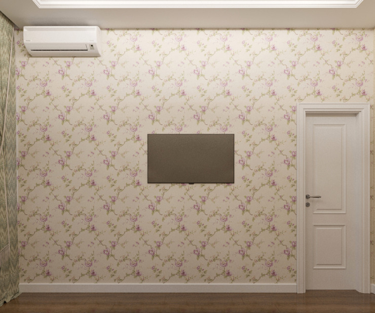 Квартира 55 кв.м. на Дзержинского Спальня в классическом стиле от Студия дизайна Виктории Силаевой Классический