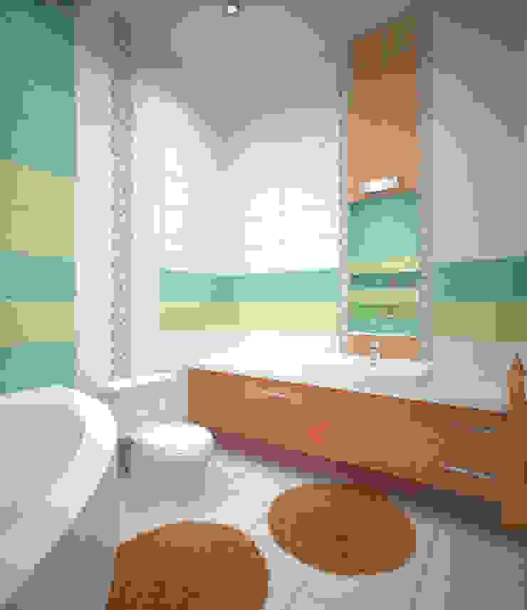 Minimalist style bathroom by Студия дизайна Виктории Силаевой Minimalist