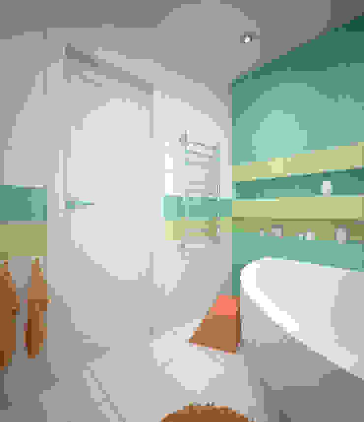 Baños de estilo minimalista de Студия дизайна Виктории Силаевой Minimalista