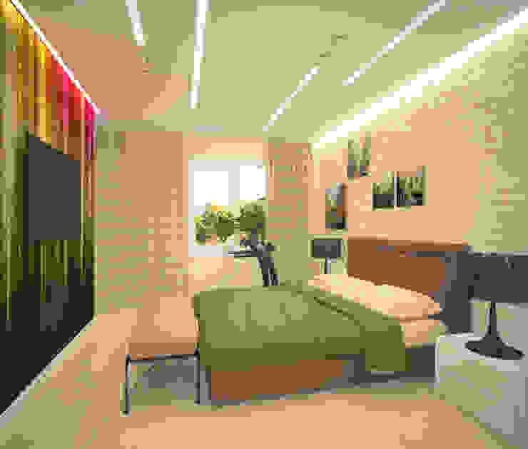 Minimalist bedroom by Студия дизайна Виктории Силаевой Minimalist