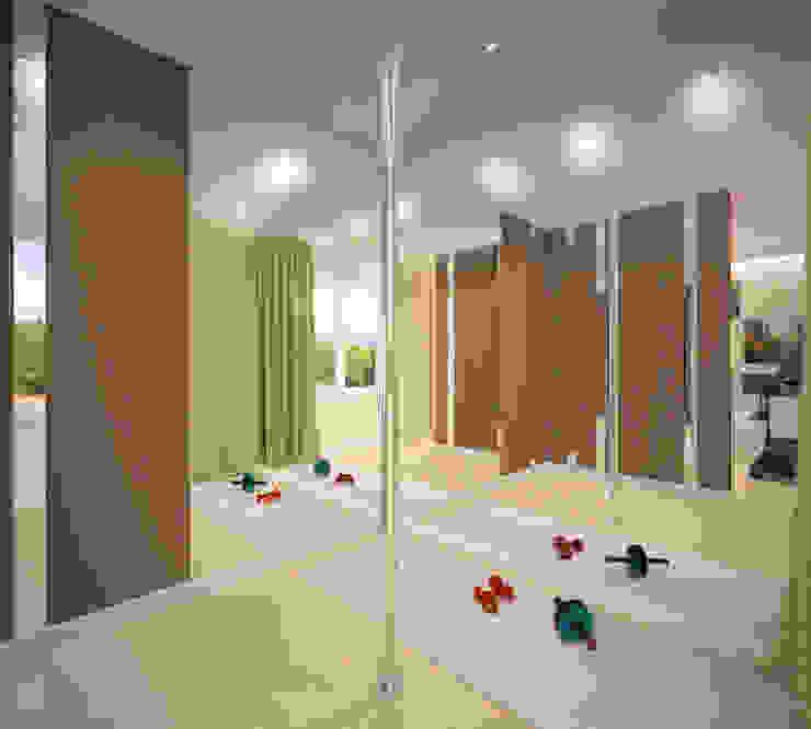 Salas multimedia de estilo minimalista de Студия дизайна Виктории Силаевой Minimalista