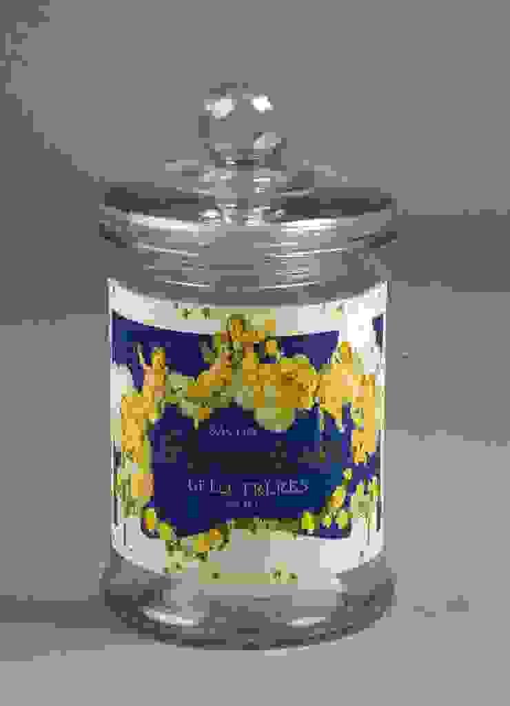 "Банка ""Savon gelee angelots bleu"" V476 от LeHome Interiors Классический Стекло"