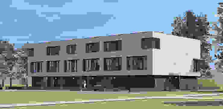 renovatie enschede: modern  door Wismans & De Jong Architecten BNA, Modern