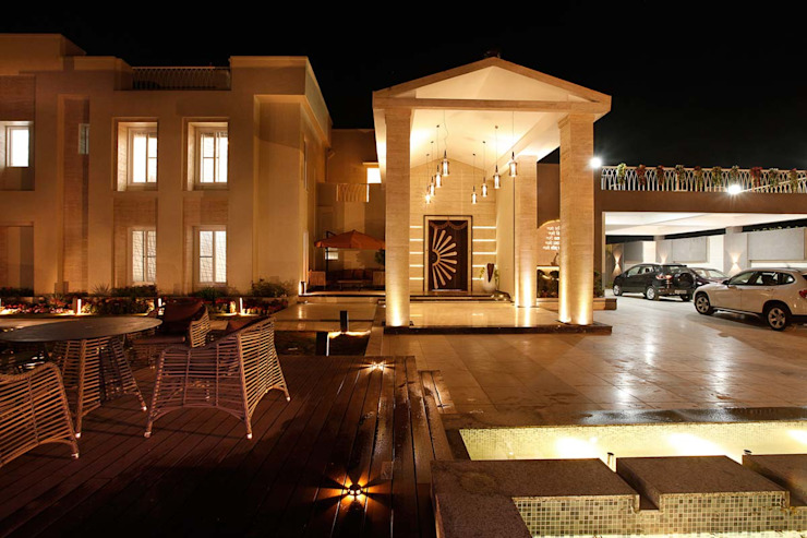 NEMI VILLA Modern houses by INNERSPACE Modern