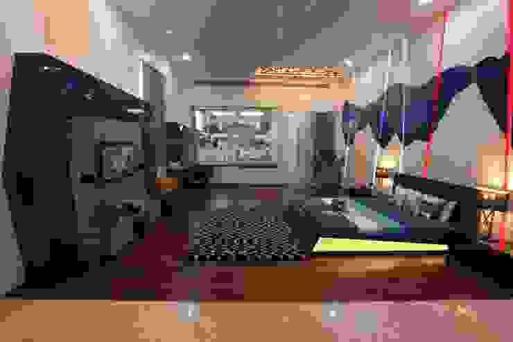 NEMI VILLA Modern style bedroom by INNERSPACE Modern