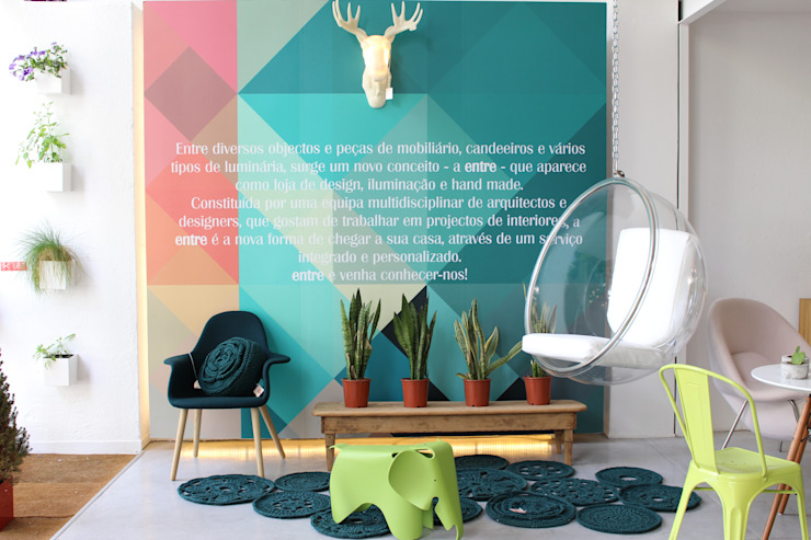 minimalist  by Entre Led e Design, Minimalist Textile Amber/Gold