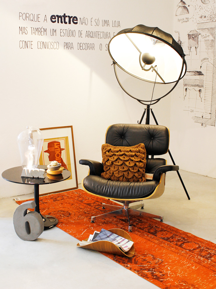 minimalist  by Entre Led e Design, Minimalist Leather Grey