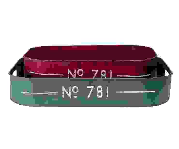 Набор подносов GreenGate Green/Red G026 от LeHome Interiors Классический Металл