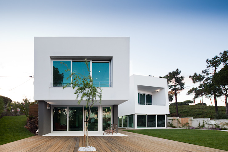 Empty Space architecture Modern houses