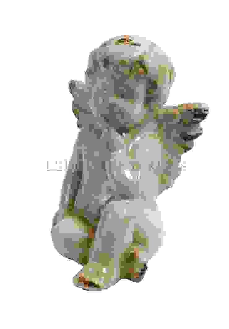 Фигурка ангела (комплект из 4-х штук) V289 от LeHome Interiors Классический Керамика