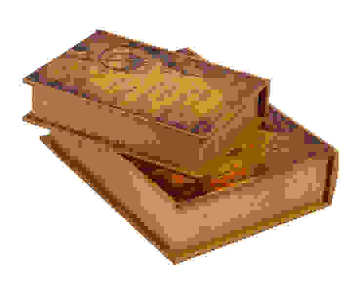 Книга-коробка (набор из 2х штук) V373 от LeHome Interiors Классический Дерево Эффект древесины