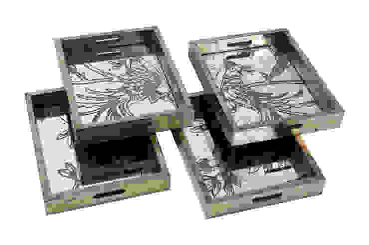 Поднос (комплект из четырех штук) V585 от LeHome Interiors Классический