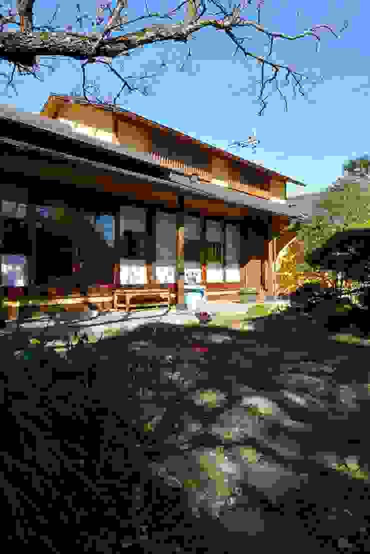 御用堀の家 日本家屋・アジアの家 の ISO設計室 和風