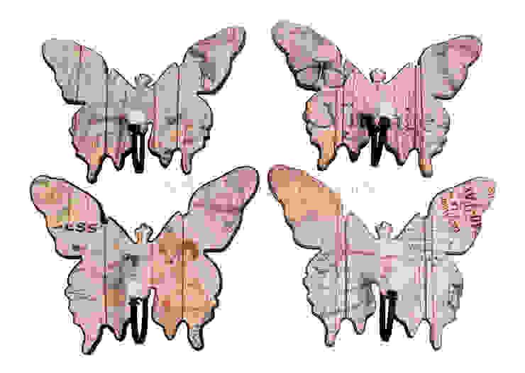 Крючок-бабочка (комплект из четырех штук) V594 от LeHome Interiors Классический