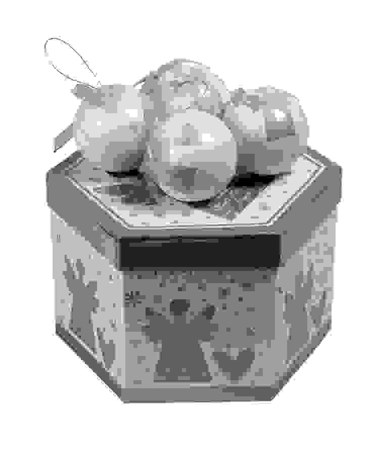 Набор новогодних шаров (14 шт) V719 от LeHome Interiors Классический